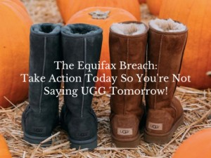 Act Today, So You're Not Saying UGG Tomorrow!