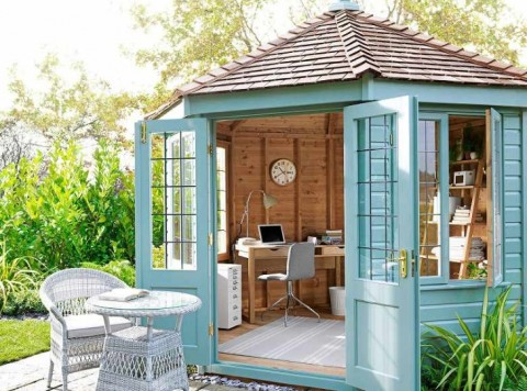 The She Shed – Make Room for Your Creative Pursuits à La Virginia Woolf