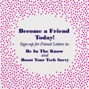 Heard It From A Friend - Become A Friend Today!